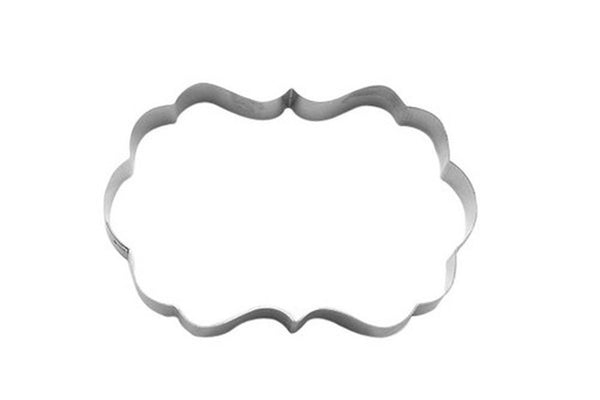 Watermark Plaque 10cm Cookie Cutter-Cookie Cutter Shop Australia