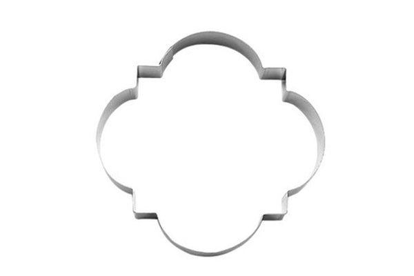 Elegant Plaque 10cm Cookie Cutter-Cookie Cutter Shop Australia