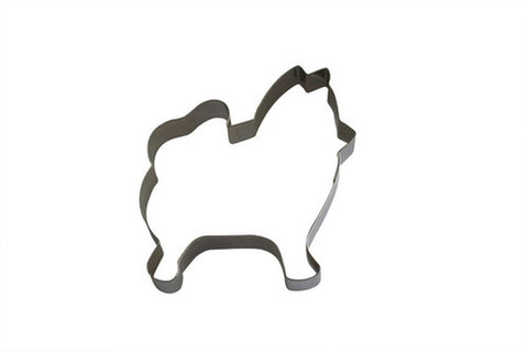 Pomeranian Dog 8cm Cookie Cutter-Cookie Cutter Shop Australia