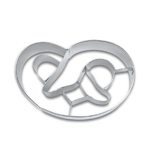 Pretzel 8cm Cookie Cutter-Cookie Cutter Shop Australia