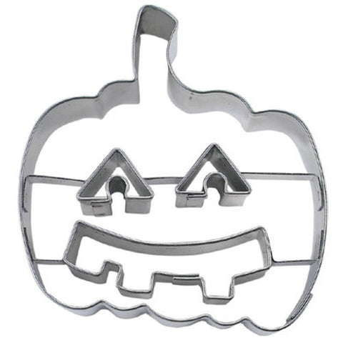 Pumpkin with Face Cookie Cutter-Cookie Cutter Shop Australia