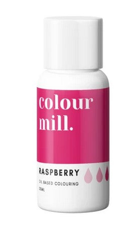 Colour Mill Raspberry Oil Based Colouring 20ml | Cookie Cutter Shop Australia