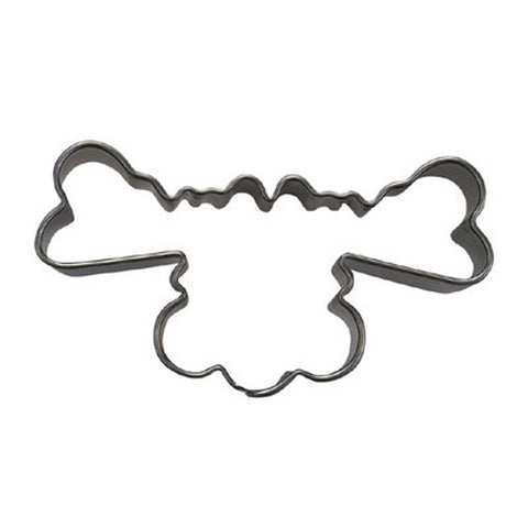 Reindeer Head 6cm Cookie Cutter-Cookie Cutter Shop Australia