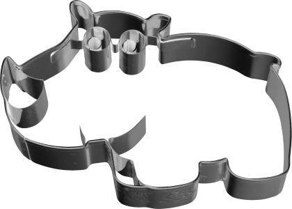 Rhino With Internal Detail 10cm Cookie Cutter-Cookie Cutter Shop Australia