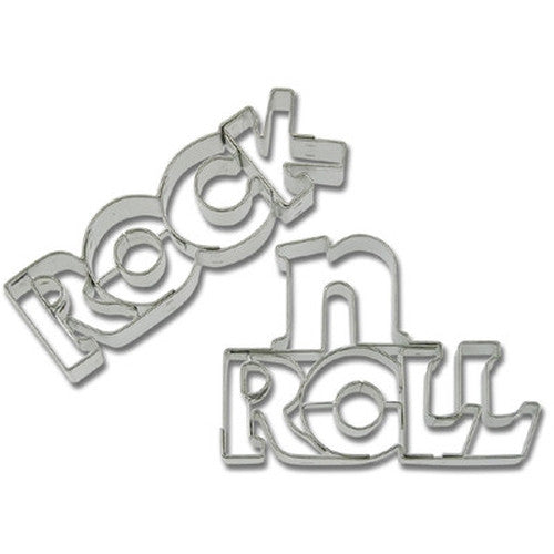 Rock n Roll Cookie Cutter-Cookie Cutter Shop Australia