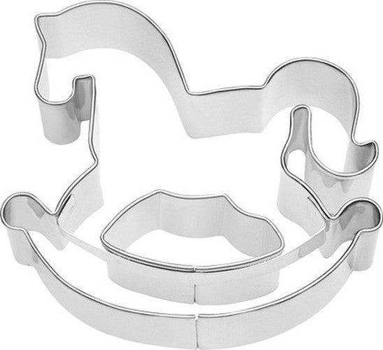Rocking Horse 7cm Cookie Cutter-Cookie Cutter Shop Australia