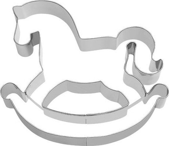 Rocking Horse 12cm Cookie Cutter-Cookie Cutter Shop Australia
