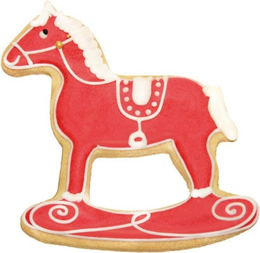Rocking Horse 12.5cm Cookie Cutter-Cookie Cutter Shop Australia