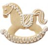 Rocking Horse Cookie Cutter 12cm