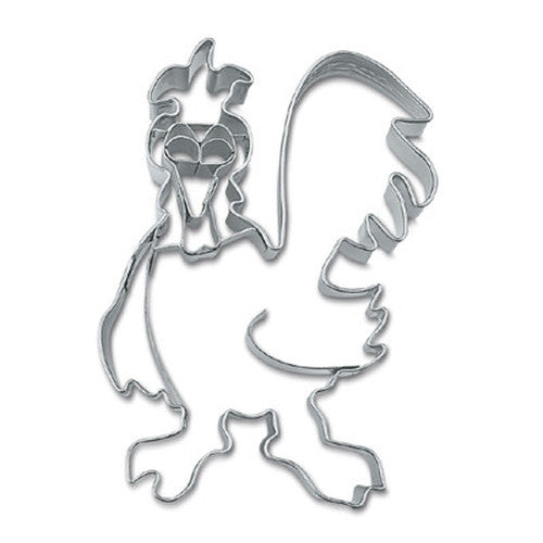 Rooster with Embossed Detail 8cm Cookie Cutter-Cookie Cutter Shop Australia