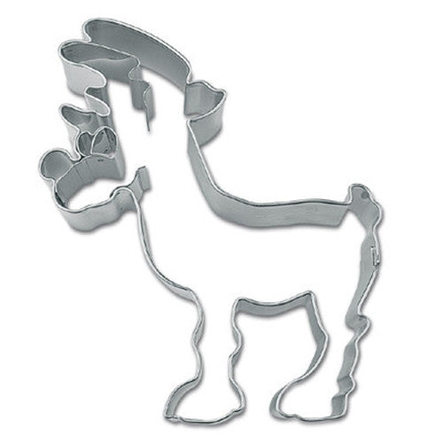 Rudolph Reindeer 9.5cm Cookie Cutter-Cookie Cutter Shop Australia