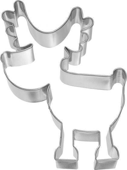 Rudolf 10cm Cookie Cutter | Cookie Cutter Shop Australia