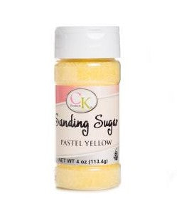 Sanding Sugar Pastel Yellow | Cookie Cutter Shop Australia