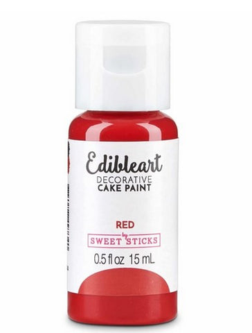 Sweet Sticks Edible Paint Red