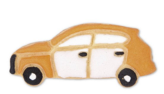 SUV Cookie Cutter with Embossed detail