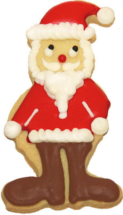 Santa Claus 10cm Cookie Cutter-Cookie Cutter Shop Australia