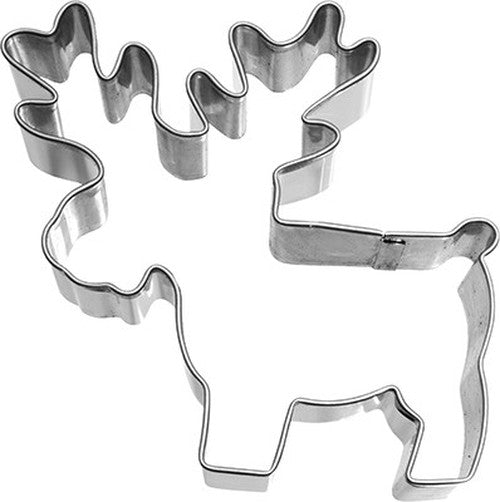 Reindeer 7.5cm Cookie Cutter-Cookie Cutter Shop Australia