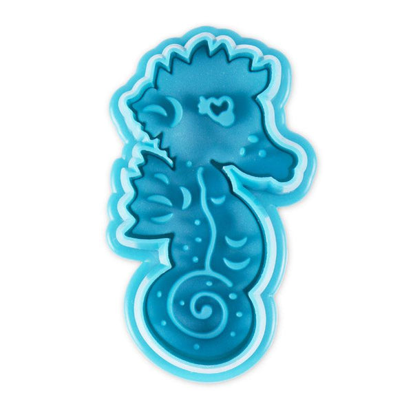 Seahorse Embossed Cookie Cutter | Cookie Cutter Shop Australia