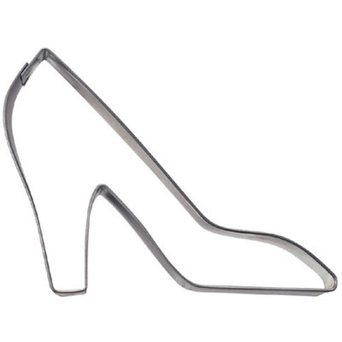 Shoe High Heel 8.5cm Stainless Steel Cookie Cutter-Cookie Cutter Shop Australia