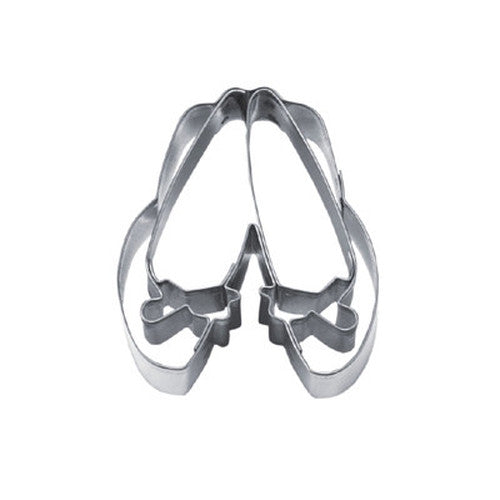 Shoes with Bows Cookie Cutter-Cookie Cutter Shop Australia