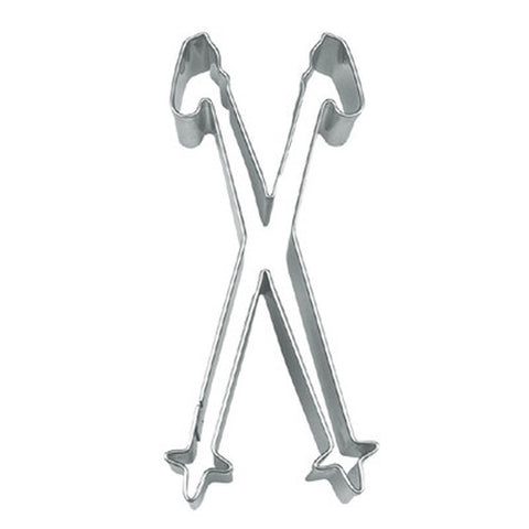 Ski Poles Cookie Cutter-Cookie Cutter Shop Australia