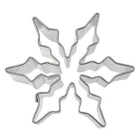 Snowflake Ice Crystal 6cm Cookie Cutter-Cookie Cutter Shop Australia