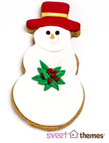Snowman Cookie Cutter 11cm
