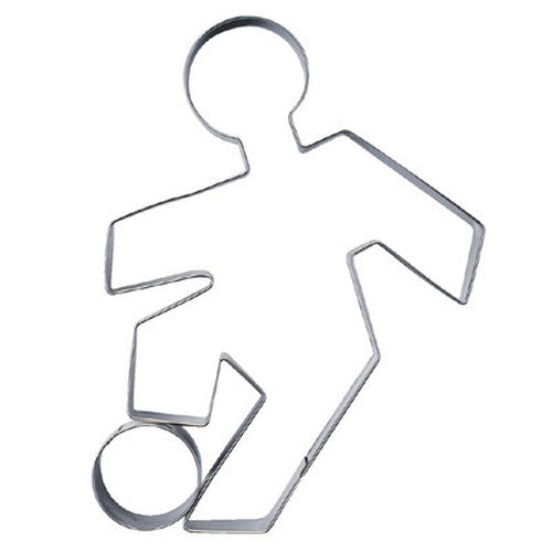 Soccer Player Cookie Cutter-Cookie Cutter Shop Australia