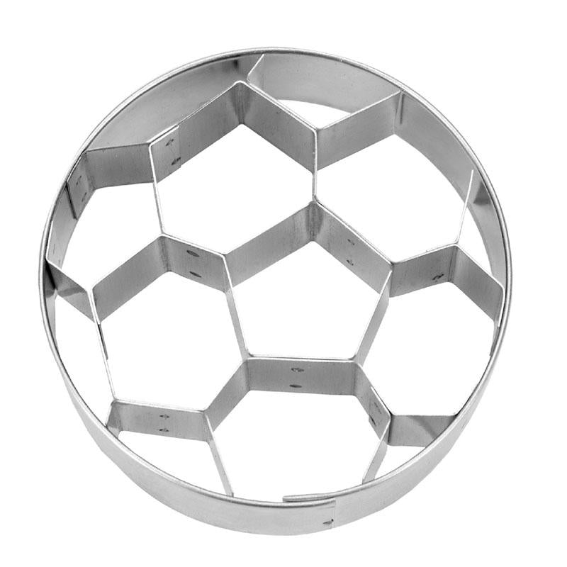 Soccerball With Internal Detailing 6cm Cookie Cutter