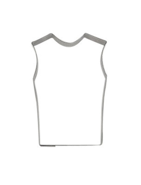 Sports Guernsey Jumper or Singlet 7.5cm Cookie Cutter-Cookie Cutter Shop Australia