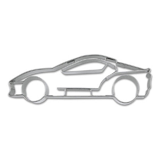 Sports Car with Embossed Detail Cookie Cutter-Cookie Cutter Shop Australia