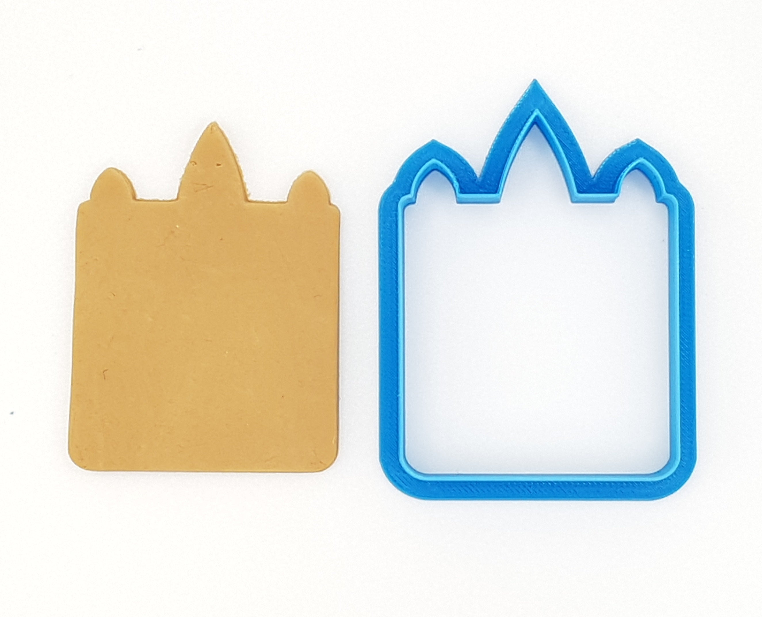 Square Unicorn Face 7cm Cookie Cutter-Cookie Cutter Shop Australia