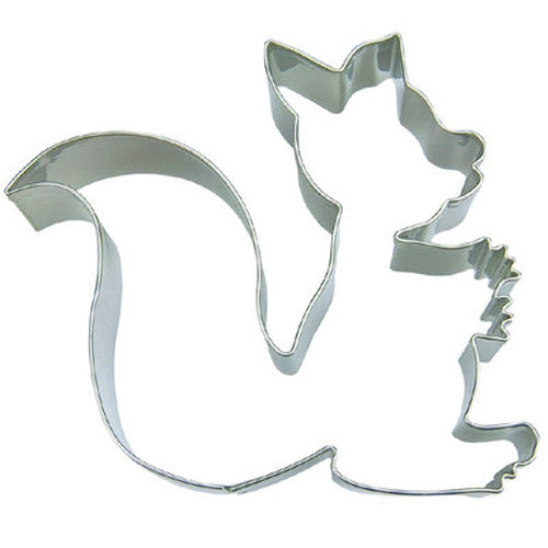 Squirrel 8cm Cookie Cutter-Cookie Cutter Shop Australia