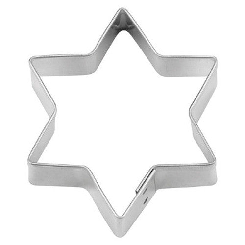 Star of David 10cm Cookie Cutter-Cookie Cutter Shop Australia