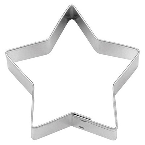 Star 5 pointed 5cm Cookie Cutter-Cookie Cutter Shop Australia