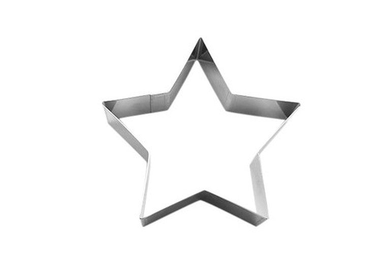 Star Cookie Cutter / Food Ring 10cm-Cookie Cutter Shop Australia