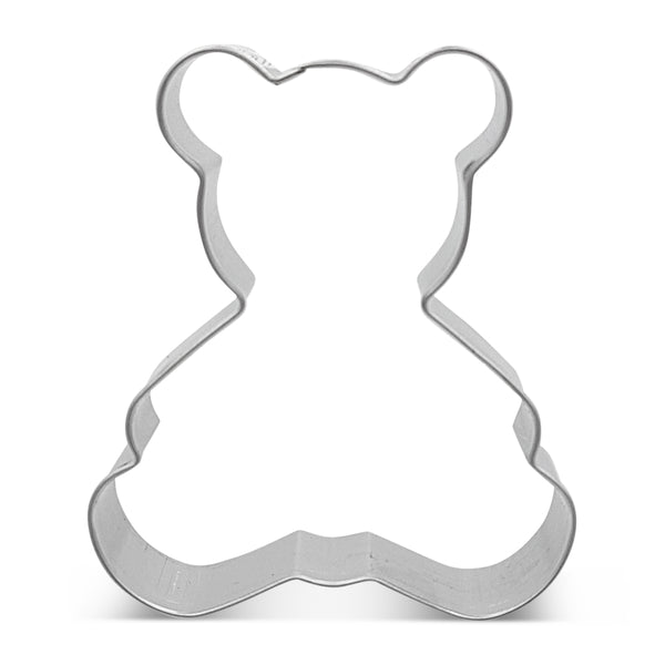 Teddy Bear Sitting 7cm Cookie Cutter-Cookie Cutter Shop Australia
