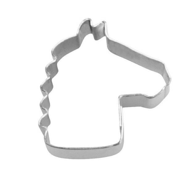 Tiny Mini Horse Head 1.5cm Cookie Cutter-Cookie Cutter Shop Australia