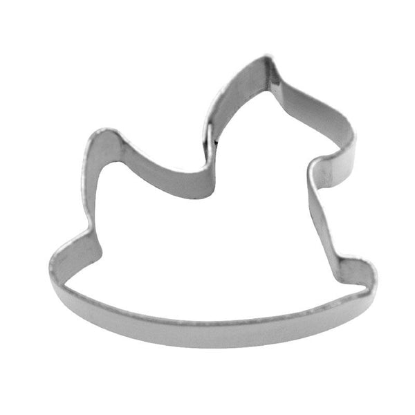 Tiny Mini Rocking Horse 1.9cm Cookie Cutter