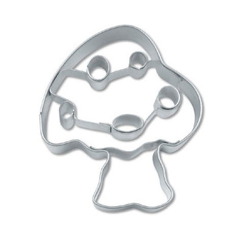 Toadstool with Embossed Detail 5cm Cookie Cutter-Cookie Cutter Shop Australia