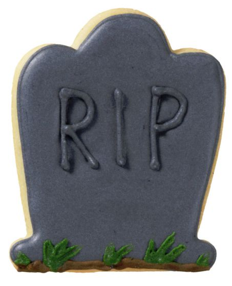 Gravestone or Tombstone 7cm Cookie Cutter-Cookie Cutter Shop Australia