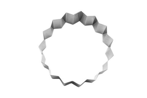 Triacontagon 30 Sided Polygon 10cm Cookie Cutter / Food Ring-Cookie Cutter Shop Australia
