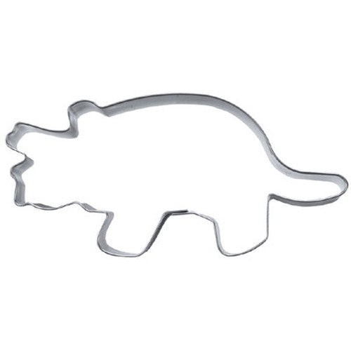Triceratops Dinosaur 9cm Cookie Cutter-Cookie Cutter Shop Australia