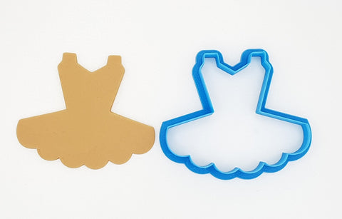 Tutu 9cm Cookie Cutter | Cookie Cutter Shop Australia