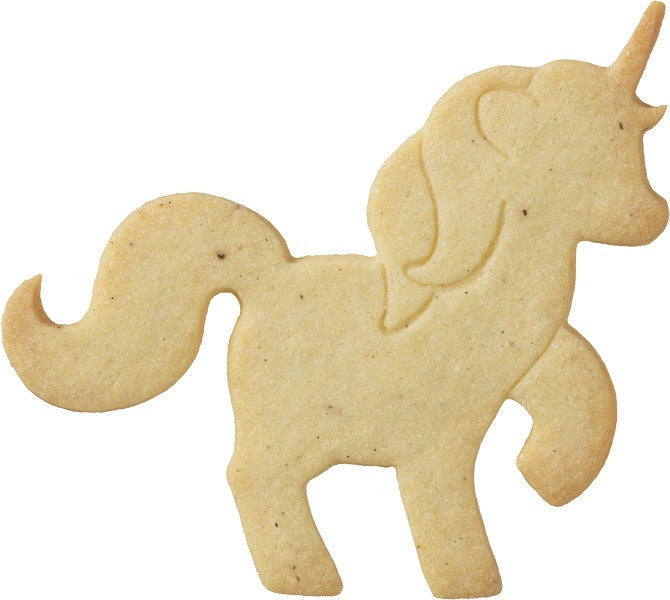Unicorn 10cm With Internal Detail Cookie Cutter-Cookie Cutter Shop Australia