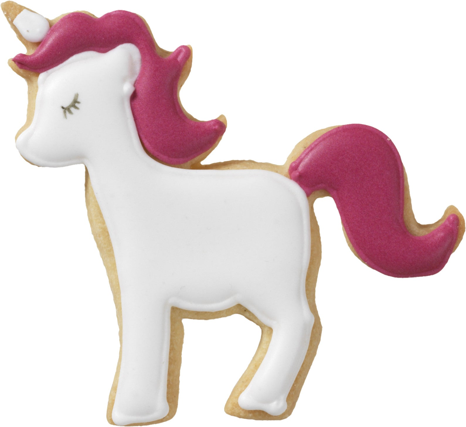 Unicorn 8.5cm With Internal Detail Cookie Cutter-Cookie Cutter Shop Australia