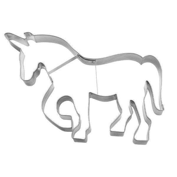 Unicorn Large 18.5cm Cookie Cutter-Cookie Cutter Shop Australia