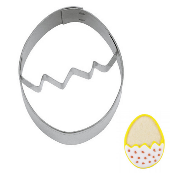 Easter Egg with Crackline 5.5cm Cookie Cutter