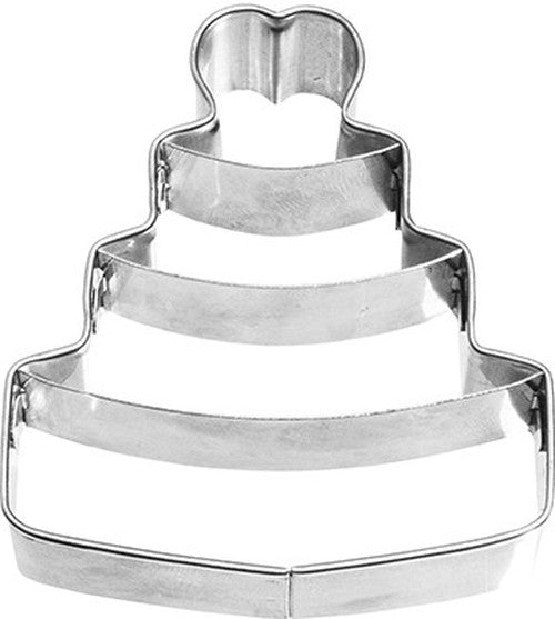 Wedding Cake with Internal Detail 6cm Cookie Cutter-Cookie Cutter Shop Australia