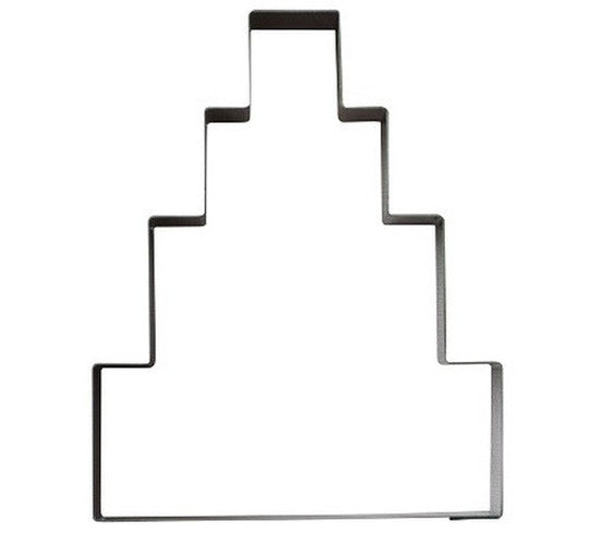 Wedding Cake 4 Tier 11cm Cookie Cutter-Cookie Cutter Shop Australia